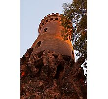 The princess is in the highest tower Photographic Print