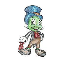 Jiminy Cricket  Photographic Print