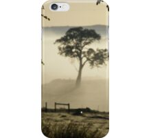 Misty Morning! 'Arilka', Mount Pleasant,  Adelaide Hills. iPhone Case/Skin