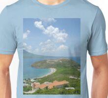 a vast Saint Kitts and Nevis landscape Unisex T-Shirt