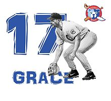 Chicago Cubs Mark Grace by ABaroneWT