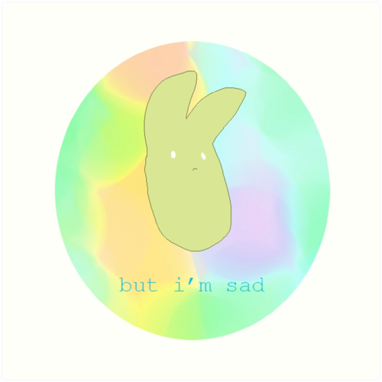 Sad Rabbit by slugspoon