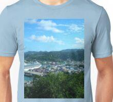 a desolate Saint Kitts and Nevis landscape Unisex T-Shirt