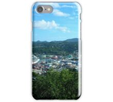a desolate Saint Kitts and Nevis landscape iPhone Case/Skin