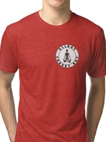 Allday Chubby Boy Rapper  Tri-blend T-Shirt