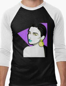 Octavia. Men's Baseball ¾ T-Shirt