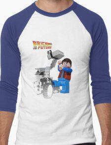 Brick to the Future Men's Baseball ¾ T-Shirt