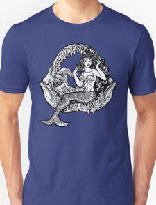 Mermaid and Shark Jaws T-Shirt