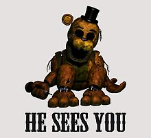 Golden freddy He Sees You - FNAF by ChaneCollect