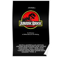Jurassic Brick Poster