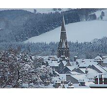 Snowy Peebles Photographic Print