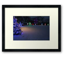 Christmas Glow Framed Print