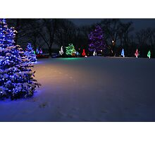 Christmas Glow Photographic Print