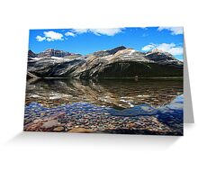 Bow Lake Painted Greeting Card