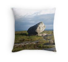 Aran Memories - Northeast Coast of Inis Mor, Ireland Throw Pillow