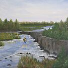 River Fishin' by Linda Bennett