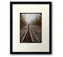 subway ttv fake Framed Print