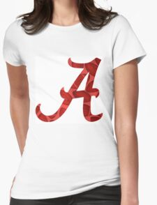 Alabama Football Womens Fitted T-Shirt