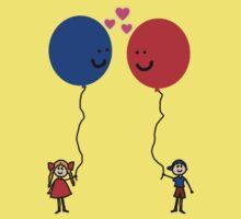 Balloon Love Kids Tee