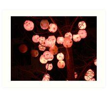 Lantern Festival - Dr Sun Yat-Sen Gardens Art Print