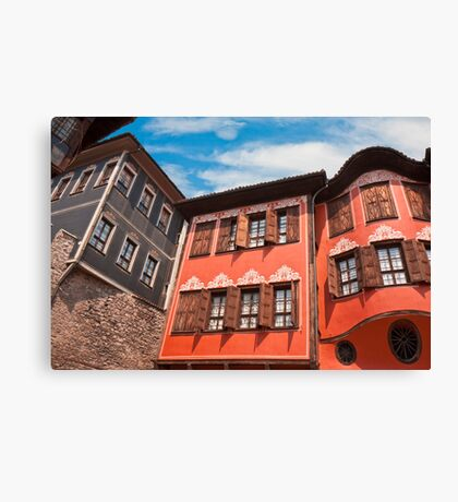 Plovdiv Architecture Canvas Print