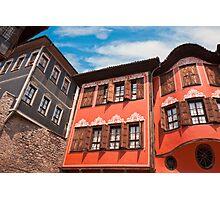 Plovdiv Architecture Photographic Print