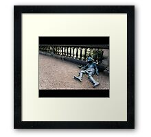 A Rough Knight, Sir? Framed Print