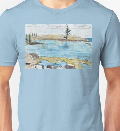 Lone Pine, Across Emily Bay Unisex T-Shirt