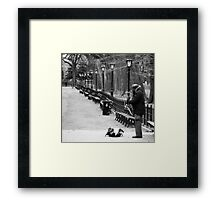 Jazz in Central Park, NYC Framed Print
