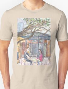 Afternoon at the Italian Café in Leichhardt T-Shirt