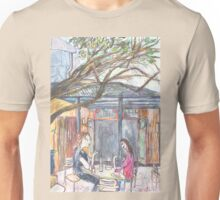 Afternoon at the Italian Café in Leichhardt Unisex T-Shirt