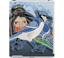 the bluejay iPad Case/Skin