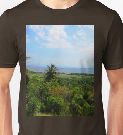 a historic Cuba landscape Unisex T-Shirt