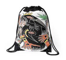 crown Drawstring Bag