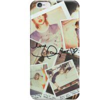 taylor swift 1989 signature iPhone Case/Skin
