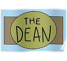 The Dean Championship Belt Poster