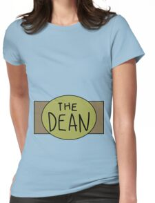 The Dean Championship Belt Womens Fitted T-Shirt