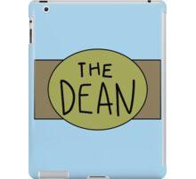 The Dean Championship Belt iPad Case/Skin