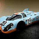 Gulf Porsche 917 by Willie Jackson