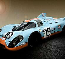 Gulf Porsche 917 by Willie Jackson