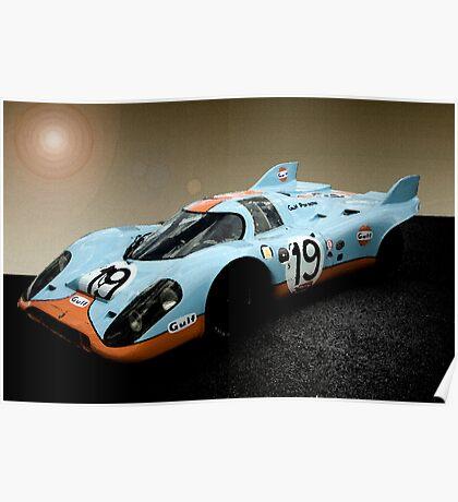 Gulf Porsche 917 Poster