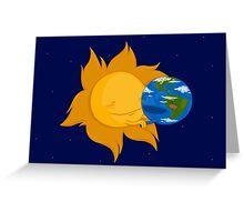 Global Warming #2 Greeting Card
