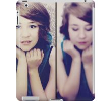 Cover Girl Diptych iPad Case/Skin