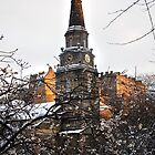 Edinburgh Winter III by Chris Clark