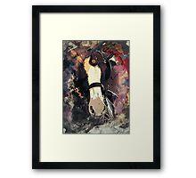 Equine Elegance: Budweiser Horses at the Calgary Stampede Framed Print