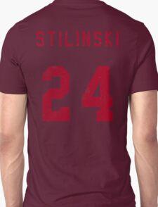 Stilinski Jersey--Red Lettering T-Shirt