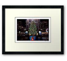The Christmas Tree Framed Print