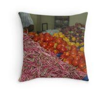 Turkish market Throw Pillow