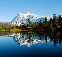 Mount Shuksan, North Cascades, WA by Octoman