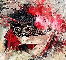 Lady in Red by Wilko van de Kamp